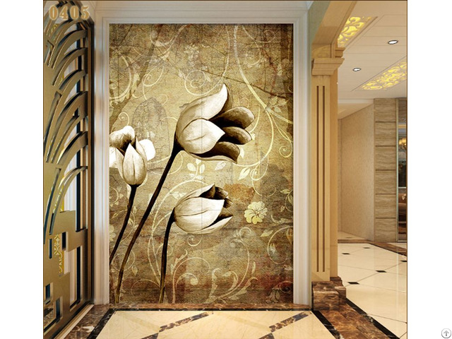Inside Wall Background Decoration 3d
