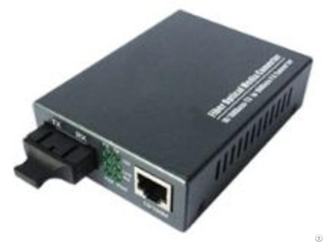 Media Converter 100 Fx To 10 100base Tx