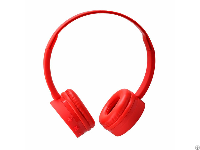 Uldum Wireless Abs Shell Comfortable Stereo Material Bluetooth Headset Headphone For Media Portable