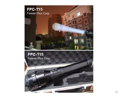 Hi Power Rechargeable Focal Zoom Led Spotlight (fpc-t15)