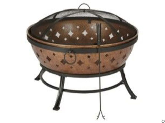 Popular Punching Pressed Outdoor Oem Fire Pits