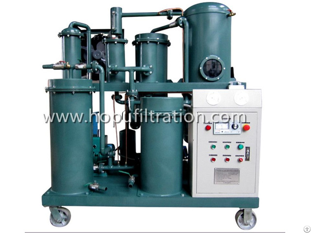Vacuum Lubricant Oil Filtration Machine For Series Tya