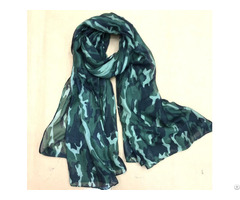 Summer Camouflage Printed Scarf