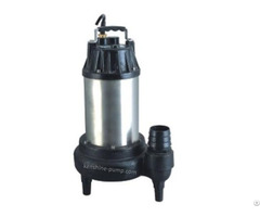 Wq Submersible Sewage Pump Driven By 50hz 220v Motor