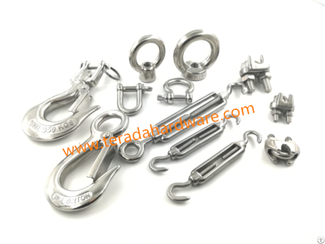 Stainless Steel Rigging Hardware Turnbuckle