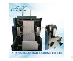 Single Layer Slitting And Rewinding Machine