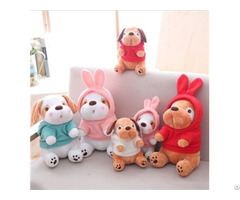 Wholesale Custom Stuffed Animal Toy Small Size Plush Dog Toys Promotional Gift