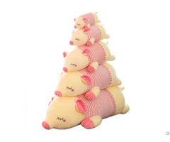 Wholesale Pig Plush Toy Cute Pink Doll Pillow Birthday Gift