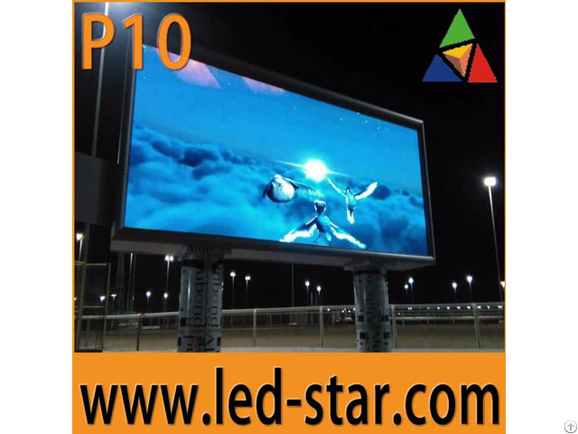 Outdoor Led Display Screens Advertising Board