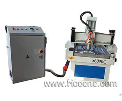 Homemade Small Cnc Stone Router Cutting Etching Engraver For Sale S6090c