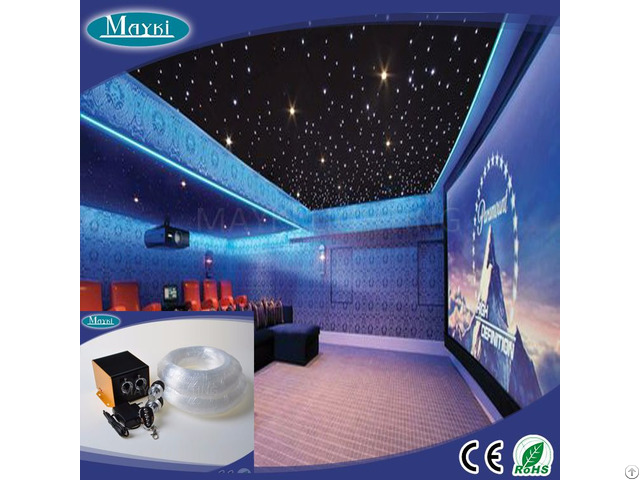 Sparkle And Silent Running Luxury Light Fiber Optic Lighting With Competitive Price