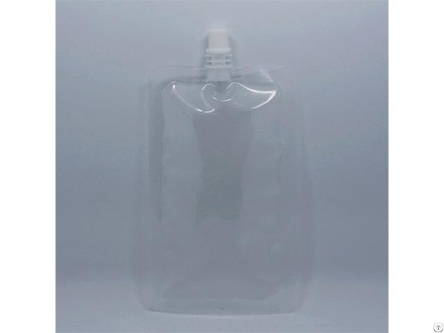Clear Pe Spout Juice Bag