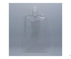 Clear Pe Spout Juice Bag