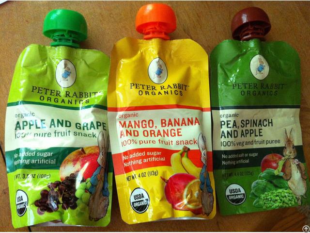 Laminated Plastic Food Grade Packaging Soursop Juice Bag