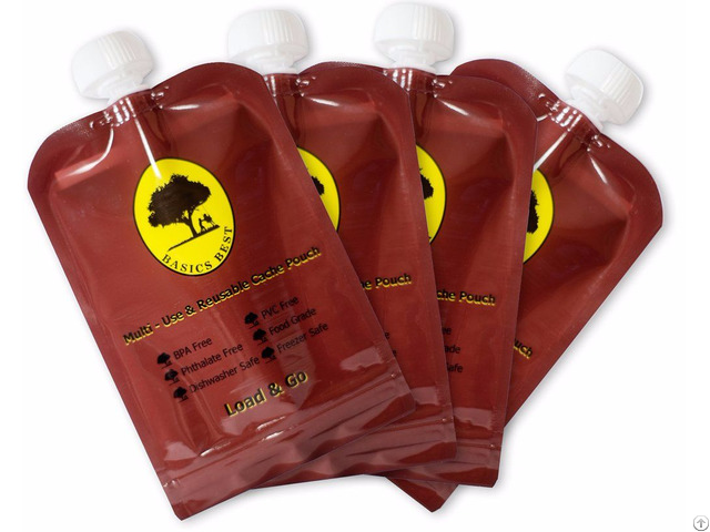 Customized Reusable Juice Drink Food Packaging Bag