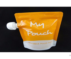 Children Drinking Pouch For Beverge Packaging