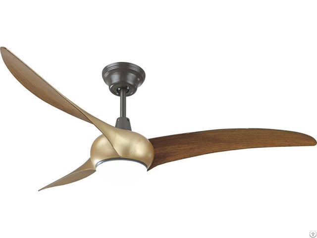 Modern Design Decorative Home Industiral Ceiling Fan With Led Light