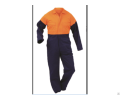 Polyester Cotton Mens Workwear Overalls