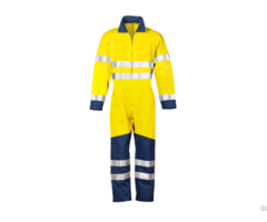 Polyester Cotton Womens Workwear Overalls