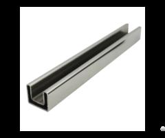 Stainless Steel Single Slot Rectangular Tube