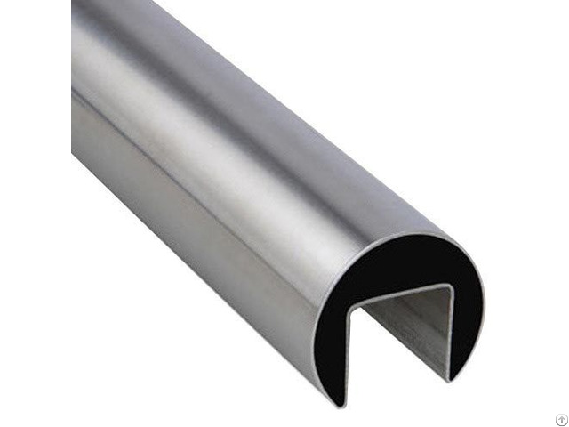 Stainless Steel Single Slot Round Pipes