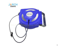Cat6a 10 25m Cat6 Cat5e Retractable Data Network Ethernet Cable Reels With Slip Ring Inside