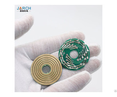 Ultra Thin Disc Slipring Pcb Substrate Mini Conductive Slip Rings For Robotic Arm