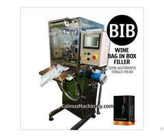 Boxed Wine Cocktail Packaging Equipment Bag In Box Filling Machine