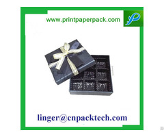 Customized Food Grade Chocolate And Candy Gourmet Gift Box