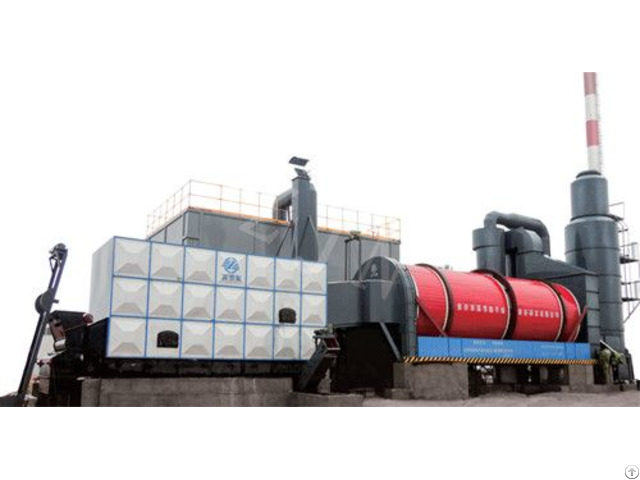 Recyclable Mineral Waste Dryer For Reusing