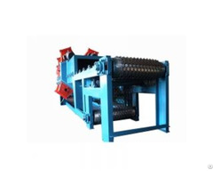 Qwd Series Wire Mesh Belt Shot Blasting Machine