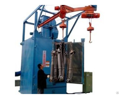 Hanger Shot Blasting Machine Used For Surface Cleaning