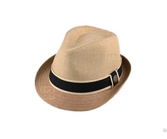 Splicing Fedora Straw Hat