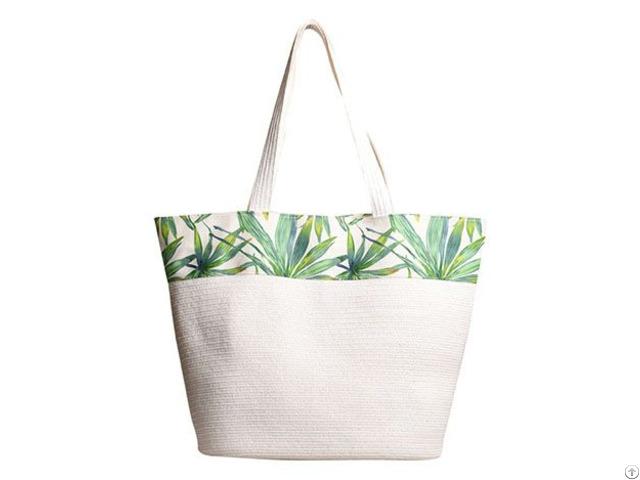 Custom Printed Paper Tote Bag