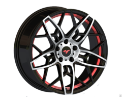 Black Milling Pionts Car Aluminum Alloy Wheel Jihoo Wheels