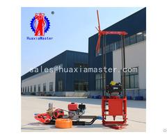 Qz 2c Gasoline Engine Sampling Drilling Rig Supplier For China