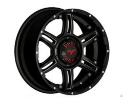 Eighteen Inch Black Machine Lip Auto Aluminum Wheel Jh S02 Jihoo Wheels
