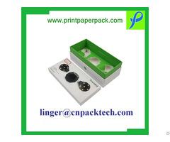 Custom Coated Paper Lid And Base Shoulder Box