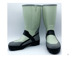 Fishing Boots Handmade Of Natural Rubber