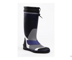 Deck Boots Handmade Of Natural Rubber Waterproof