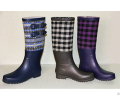 Ladies Rubber Boots 100% Water Poof