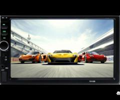 Universal 2din 7inch Car Stereo Mp5 Mp4 Radio Bt Player