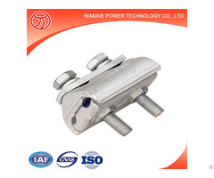 Shaped Copper And Aluminium Parallel Groove Clamp Export Orientd