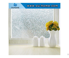 Bt101 Pvc Waterproof Frosted Glass Window Film