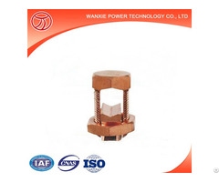 Copper Aluminium Bolt Clamp Terminal Connector High Quality Electric Fitting