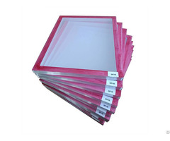 Red Glue Pre Stretched Screen Printing Frame