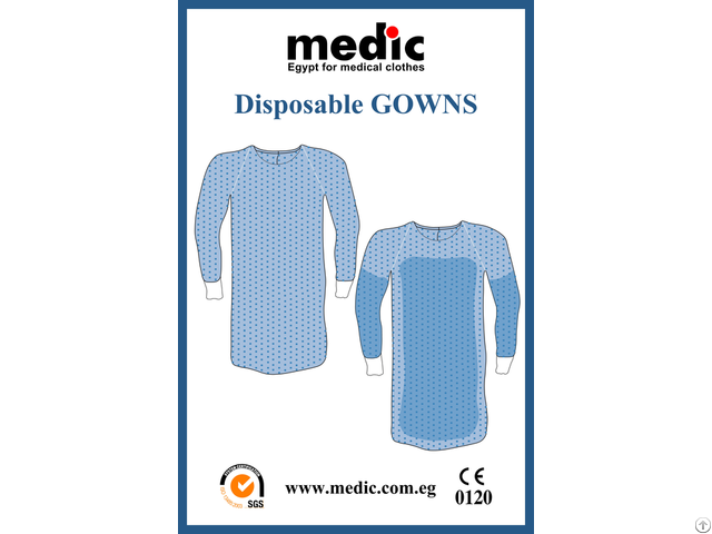 Disposable Surgical Gown Standard And Reinforced