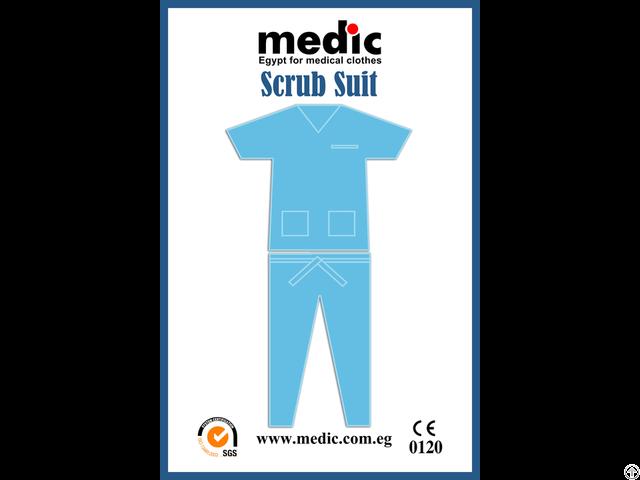 Disposable Scrub Suit