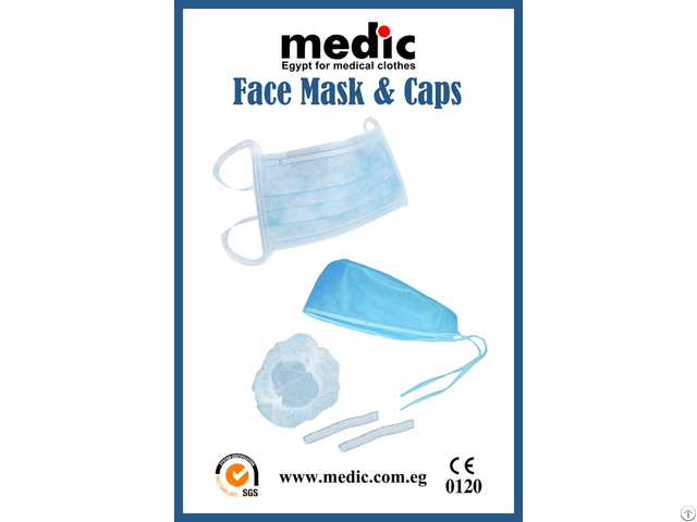 Disposable Face Mask And Caps