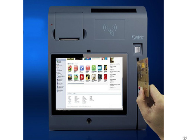 Jepower T508a Q Pos Terminal With Ms And Ic Card Reader Nfc 3g Emv Approved